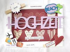 Geldgeschenke - Honeymoon - Hochzeit - Geldgeschenk Keilrahmen - ein Designerstück von Kreativengel- bei DaWanda
