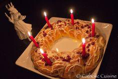 DEC 13 ST LUCIA  Catholic Cuisine: St. Lucy wreath cake recipe