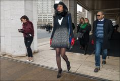The Urban Vogue: Speckled … NYFW 2-2015