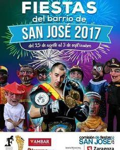 GASTRONOMÍA EN ZARAGOZA: Fiestas del Barrio San José 2017. Sábado 26 de Ago...