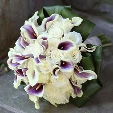 purple wedding flowers - love the purple callalillies - would look great with hydrangeas