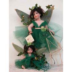 Fata dei mesi piccola: settembre - Laboratorio Monte Dragone di Stefania Rossetti Girls Dresses, Flower Girl Dresses, Pixies, Dragon, Doll, Wedding Dresses, Flowers, Fashion, Lab