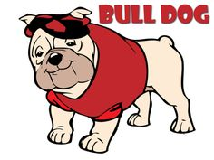 Bulldogs in Cartoons   BaggyBulldogs