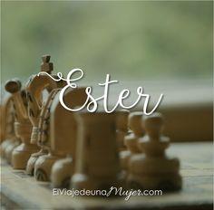 Nueva serie - Ester