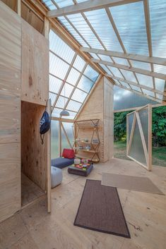 Gallery of Cabin Modules / IR arquitectura - 13 - ., Gallery of Cabin Modules / IR architecture - 13 - Although early with principle, a pergola has become enduring somewhat of a contemporary rebirth these days. An elegant open-air housing. Tiny House Cabin, Shed Cabin, Diy Cabin, Wood Architecture, Passive House, Building A Shed, Cabins In The Woods, Play Houses, Cabana