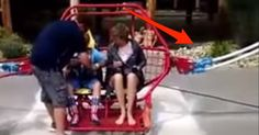 They Were Excited For This Amusement Park Ride...Until The Unthinkable Happened