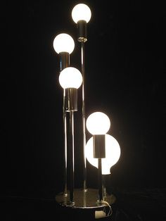 Sonneman Lamp @ MidModMall on Etsy