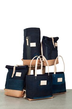 af1185708404f1 Atelier de l Armée released a limited serie of 5 bags made out of a Japanese  indigo boro kimono. Literally translated as rags or scraps of cloth