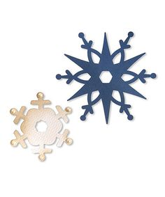 This Snowflake Die Set by Sizzix is perfect! #zulilyfinds