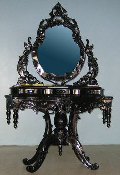 All sizes | 4116 BEAUTIFUL ORNATE HIGH GLOSS BAROQUE VANITY | Flickr - Photo Sharing!
