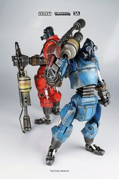 ROBOT PYRO FIGURINES