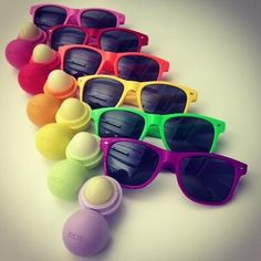 It would be so awesome to have an EOS ball to match with every outfit I wear. Ray Ban Sunglasses Outlet, Sunglasses Online, Oakley Sunglasses, Eos Chapstick, Eos Products, Best Lip Balm, Love Lips, Baby Lips, Ray Ban Wayfarer