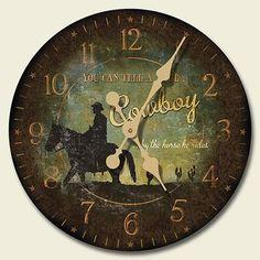 Heading West Wood Wall Clock