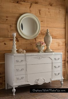 A WHITE DRESSER (PURE & ORIGINAL)