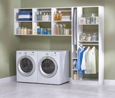 Laundry Rooms - contemporary - laundry room - boston - Boston Closet Company
