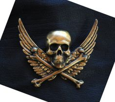 Steampunk Pin Skull and Bones Steampunk Top Hat Pin Steam Punk Pirate Airship Pirate Costume Steampunk Jewelry by Victorian Curiosities