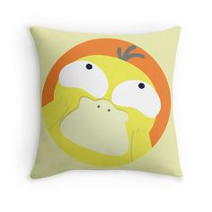 PERFECT GIFT FOR POKEMON FANS | HAPPY PSYDUCK (POKEMON) Available as t-shirts, iphone cases, stickers, samsung cases, home decors, tote bags, prints, cards and laptop skins #pokemon #psyduck #happy