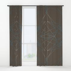 LIGHT LINES ENSEMBLE PATTERN I Window Curtains by Pia Schneider TODAY ONLY - UP TO 40% OFF + FREE SHIPPING ON TOTES, ART PRINTS, PHONE CASES AND SELECT MOTHER'S DAY GIFTS - SHOP THE SALE #art #graphic #geometric #elegant #windowcurtains #curtains #lines #blue #brown #white #modern #piaschneider #society6 #savemoney #freeshipping