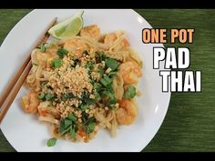 One Pot Pad Thai (Better than BUZZFEED!) - YouTube
