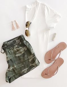 Best Casual Summer Outfits Part 21 Cool Summer Outfits, Cute Casual Outfits, Short Outfits, Spring Outfits, Look Fashion, Fashion Outfits, Korean Fashion, 2000s Fashion, French Fashion