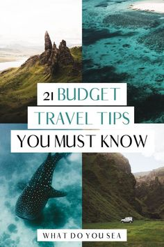 Dream of seeing destinations like Paris, New York, Japan, London, and Greece, but you don't want to drop a ton of coin to do it? These 21 GENIUS budget travel tips are here to help you see more of the world on a low budget without compromising your experience. Budget travel is more accessible now than any other point in time, let's take advantage of it using these hacks! Use these tips for saving money while traveling and get to exploring! #budgettravel #traveltips