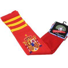 Soccer Baseball Football Basketball Sport Athletic Socks Spain Red