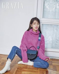 Jung In Sun in Grazia Pictorial After Successful Drama Lead Role in Terius Behind Me Jung In, Lead Role, Actor Model, Korean Actresses, Losing Her, Autumn Winter Fashion, Winter Style, Korean Drama, Success