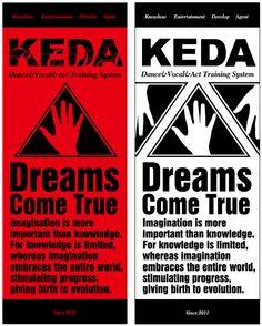 KEDA Dance & Vocal & Act Training System/ Towel design