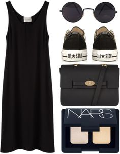 A fashion look from May 2014 featuring La Garçonne Moderne dresses, Converse sneakers and Mulberry shoulder bags. Browse and shop related looks. Casual Dresses, Casual Outfits, Summer Outfits, Cute Outfits, Look Fashion, Fashion Outfits, Womens Fashion, Fashion Trends, Polyvore Outfits