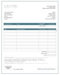 Landscaping Estimate Templates Free Word Excel PDF - Free invoice pdf template for service business