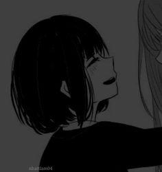 Shio🇲🇨♀️ Cute Anime Profile Pictures, Matching Profile Pictures, Cute Anime Pics, Cute Anime Couples, Friend Anime, Anime Best Friends, Deidara Wallpaper, Anime Girlxgirl, Gothic Anime