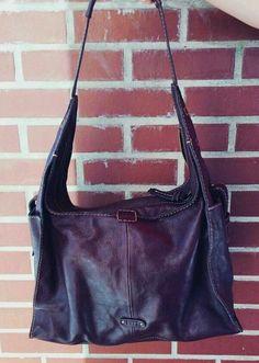 ... Frye Artisan Brown Leather Hobo Bag XL EUC! f7efa6c418