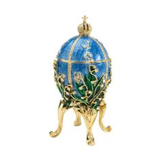 Empress Valentina Faberge-Style Collectible Enameled Egg [Kitchen] Design Toscano http://www.amazon.com/dp/B001O2IY4W/ref=cm_sw_r_pi_dp_5dwqub1WXMXP3
