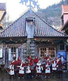 Christmas magic.. Bergen, Norway | by hegesoen