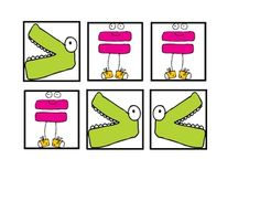 Alligator Greater Than, Less Than, Equal To Math Work Station image 4 Howard Wright Numbers Kindergarten, Math Numbers, Math Resources, Math Activities, Daily 5 Math, Montessori Math, Math Work, Christmas Math, 1st Grade Math