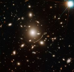 Hubble Discovery Suggests We May Need New Physics to Explain Dark Matter A team of Swiss French and British astronomers has used the Hubble Space Telescope to analyze galaxy clusters.