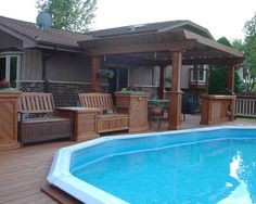 Above Ground Pools Design, Pictures, Remodel, Decor and Ideas -