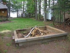 Fire Pit Area Weekly Rentals, Fire Pit Area, Outdoor Furniture, Outdoor Decor, Cottage, Wood, Home Decor, Decoration Home, Woodwind Instrument
