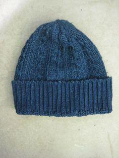 Pure Blue Japan Indigo Knit Cap - DC4 Shop