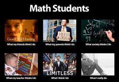 Math Major. I love/hate my major sometimes!