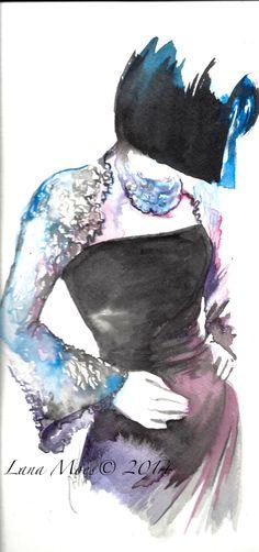 Original Watercolor Illustration - Watercolor Painting