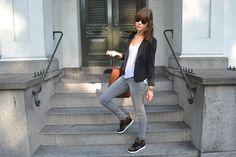 pumped up kicks Leopard Sneakers, Zara Blazer, Pumped Up Kicks, Catwalk, Dressing, Street Style, Nike, Stylish, My Style