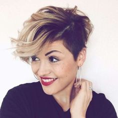 40 Short Hairstyles 2018 Short Hairtyles 2017 Cute Short Pixie, Summer Hair, Hair 2018 Pixie One… – Station Of Colored Hairs Long Pixie Hairstyles, Popular Short Hairstyles, Hairstyles 2018, Pixie Haircuts, Nice Hairstyles, Hairstyle Short, Popular Haircuts, Latest Hairstyles, Styling Pixie Cut