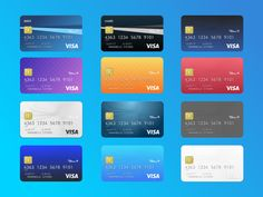 credit card app credit card design Sketch App Sources is the largest collection of icons, UI kits, wireframes, and free design resources for Sketch. Credit Card App, Credit Card Icon, Business Credit Cards, Best Credit Cards, Credit Score, Build Credit, Debit Card Design, Member Card, Bank Card
