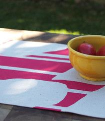 Water Breeze Table Runner in Berry