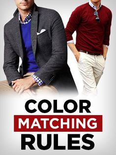 How To Effortlessly Match Colors | 3 Rules In Color Combination #menswear