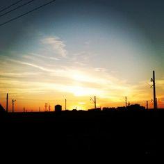 Сегодня закат