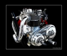 Matchless G12 Deluxe 650 Engine