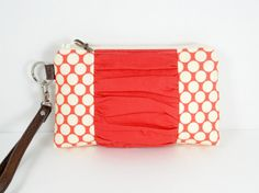 Wristlet Wallet Faux Leather Wristlet Clutch by ThePurseCo on Etsy #wristlet #clutch #wallet