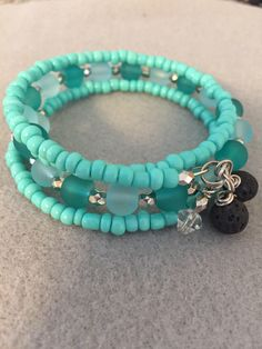 Excited to share the latest addition to my shop: Diffuser Bracelets Turquiose